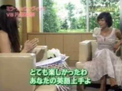 片瀬那奈 英語でしゃべらナイト