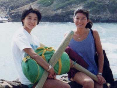 高嶋ちさ子 大学時代