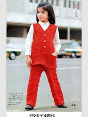 高嶋ちさ子 子役モデル時代