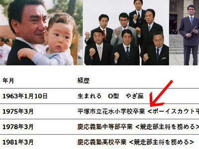 河野太郎 ホームページ