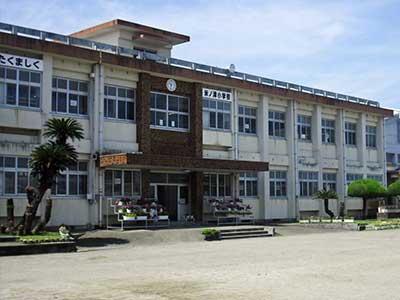 出水市立米ノ津中学校