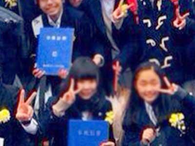 横浜市立六ツ川中学校卒業式参考画像