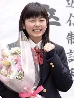 小芝風花 高校 卒業式