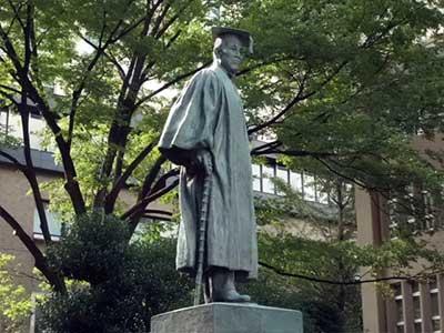 早稲田大学 大隈重信像