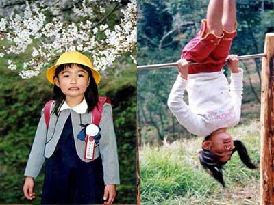 井上咲楽 小学生時代