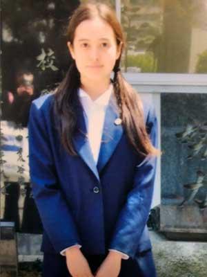 西田藍 高校時代