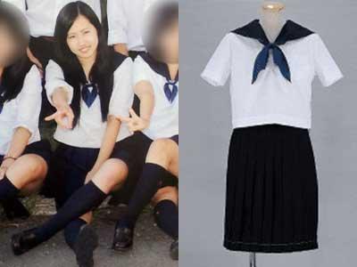 須藤早貴 高校 制服比較画像