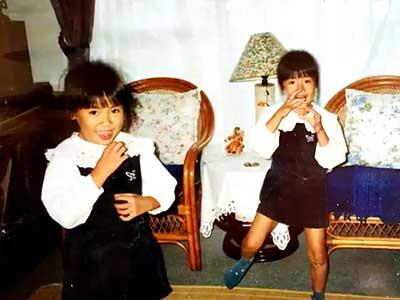 山田姉妹 小学生時代