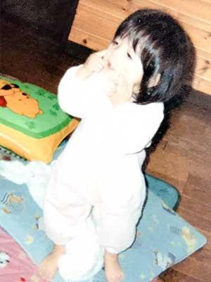 木村葉月 幼少期