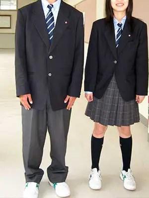 拓殖大学紅陵高等学校の制服参考画像