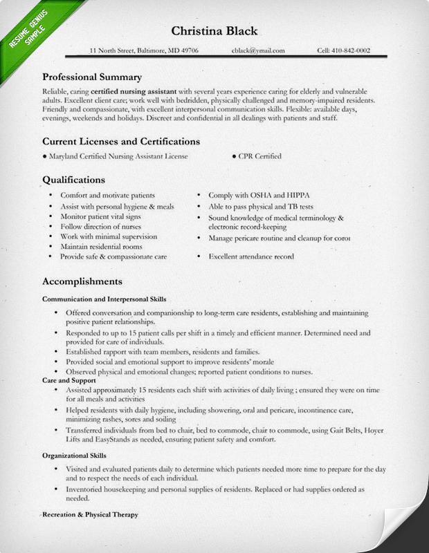 Nursing Resume Format Resume Sample