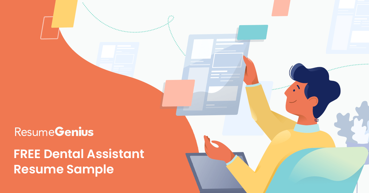 Readily develop rapport with patients, families, staff and other health care professional. Dental Assistant Resume Sample Tips Resume Genius