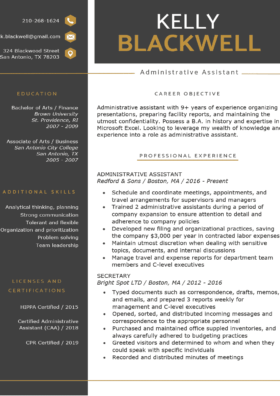 Free Resume Templates Download For Word Resume Genius