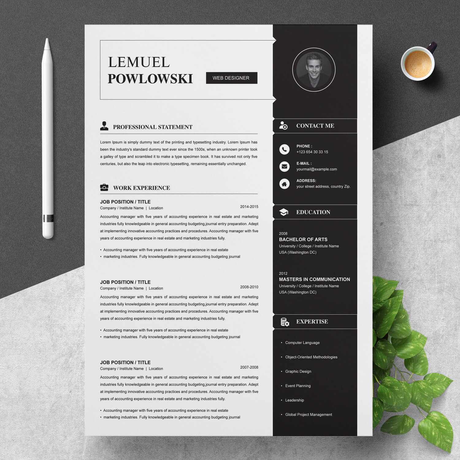Here's what you need to know to start a career in this lucrative and creative field. Junior Graphic Designer Resume Template Resumeinventor