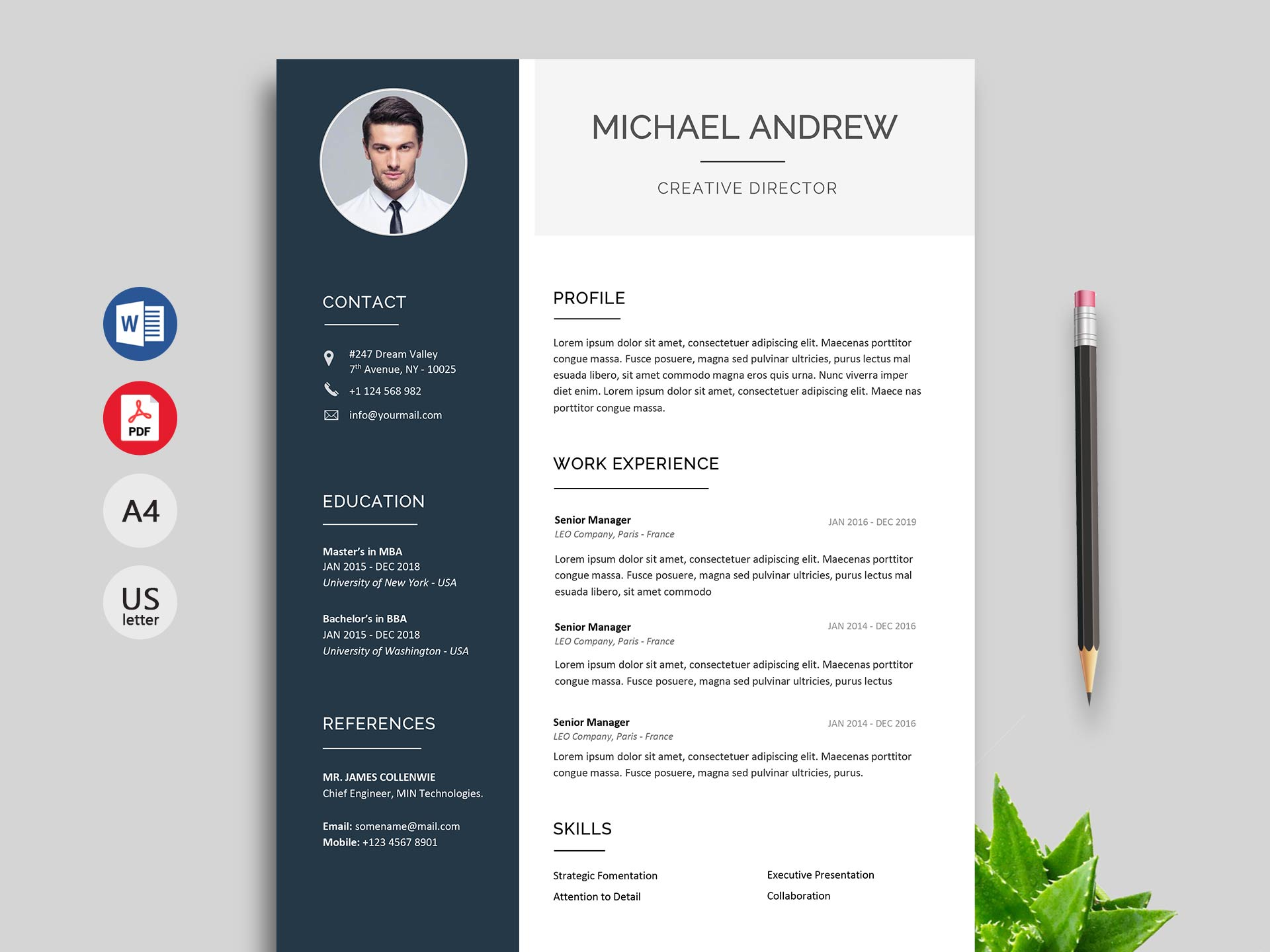 Do you need a resume for a college interview?. 150 Creative Resume Cv Template Free Download 2021 Resumekraft