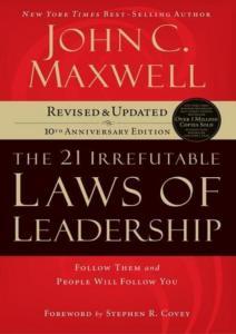 Las 21 leyes irrefutables del liderezgo - John C. Maxwell