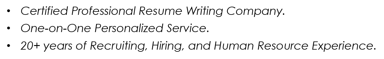 Why Are We A Better Resume A Better Resume Service  A Better Resume Service