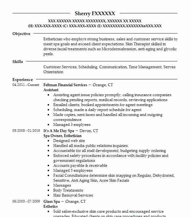 livecareer resume template esthetician resume no experience resume sample 23455 | 118944474 176042174