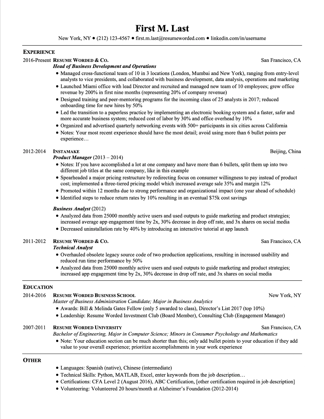Undergrad students are different from graduate students. Professional Ats Resume Templates For Experienced Hires And College Students Or Grads For Free Updated For 2021