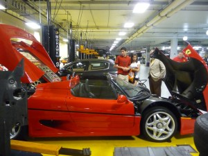 Ferrari In The Repair Department