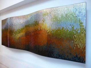 Mosaic in Lobby of A Condo Called Mosaic In South Beach