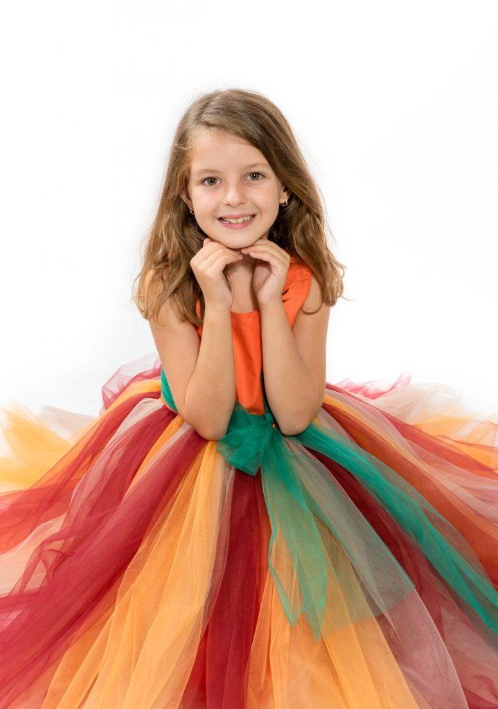 cadou Craciun rochie handmade