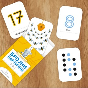 Примена на бројни картички 1-20