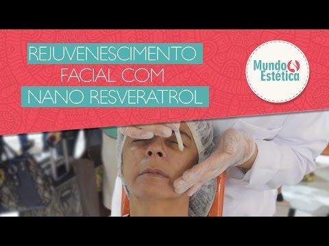 Protocolo de Rejuvenescimento facial com Nano Resveratrol – Medicatriz