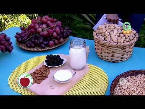 ¡Aprenda a preparar resveratrol casero con mora, uva roja y mani!