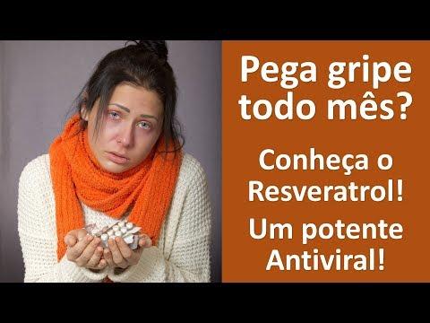 Pega gripe todo mês??Conheça o Resveratrol, um potente antiviral!