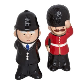 Salt & Pepper Shakers: You could even get him the matching salt and pepper shakers as well! £18 for the set.