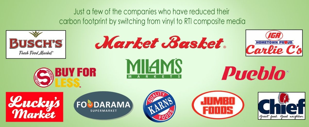 Companies who have reduced carbon footprint