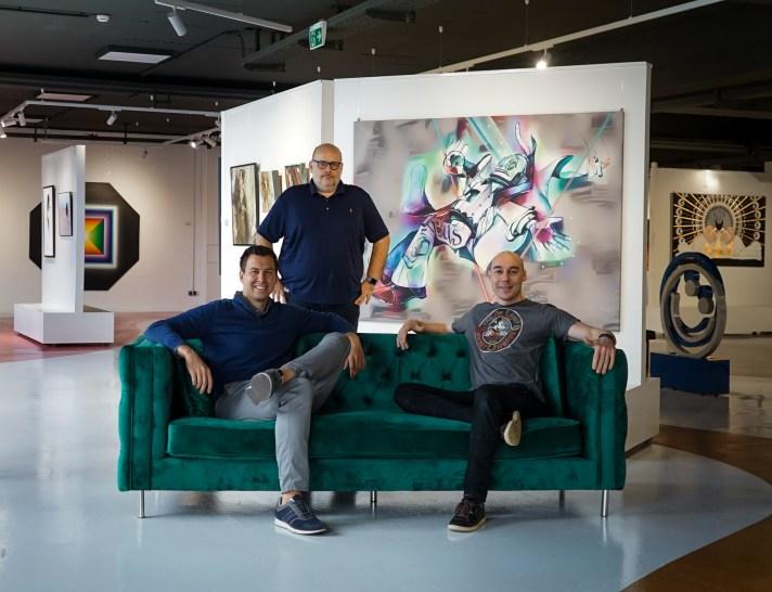 NFT-Kunstwerk Mintastic Gründer
