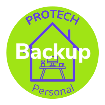 Protech Personal Backup Circle logo