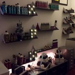Kalvin Pugh Salon christmas