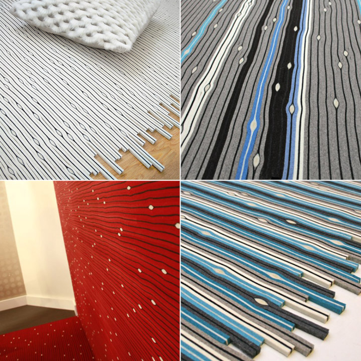 cell led carpet 06 Cell LED Carpet by Lama Concept