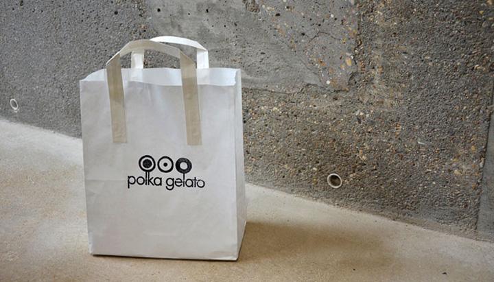 Polka Gelato store by VONSUNG 08 Polka Gelato store identity, design, branding by VONSUNG