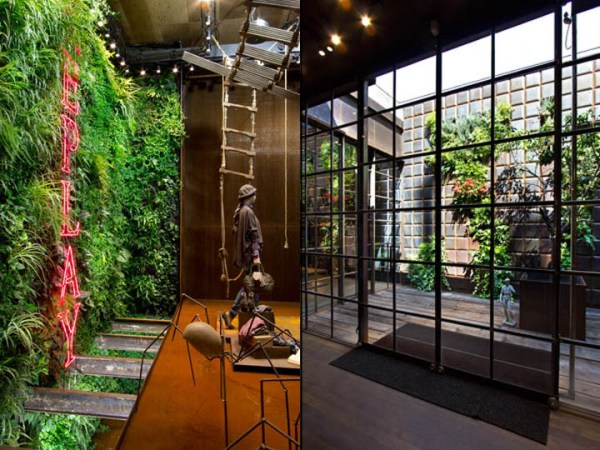 vertical garden in barcelona Replay Store by Vertical Garden Design, Barcelona » Retail
