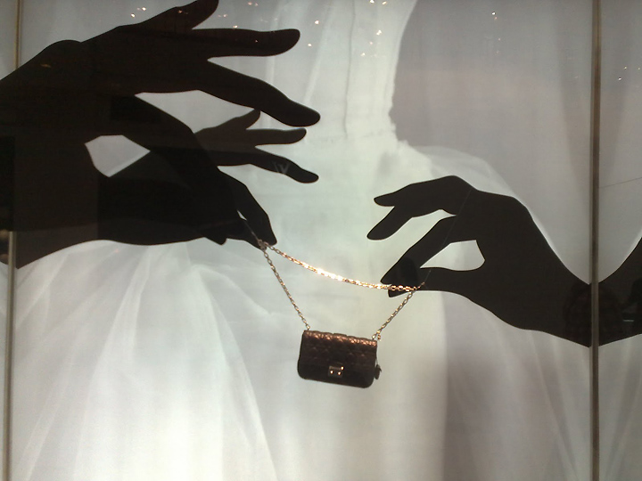 Dior Hand  Window Display