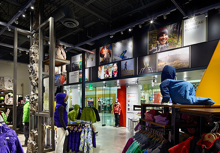 The North Face By Gensler Indianapolis Retail Design Blog