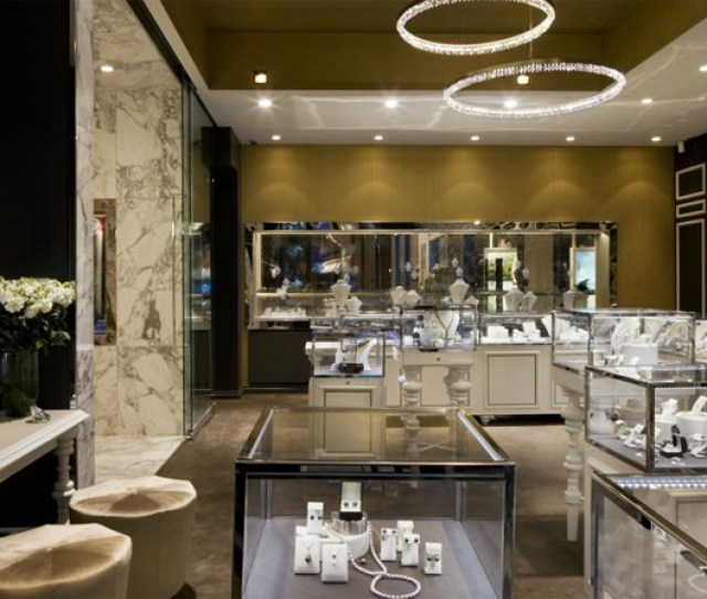 Entrance Of The Store Showed The Existence And Strength Of This Store Interior Design The Trewarne Fine Jewelry Store Located At Ground
