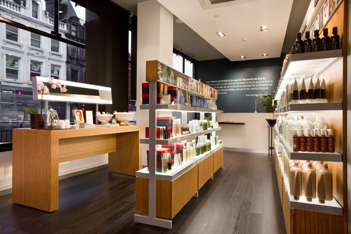Aveda Lifestyle Salon Amp Spa Flagship By Reis Design Leeds