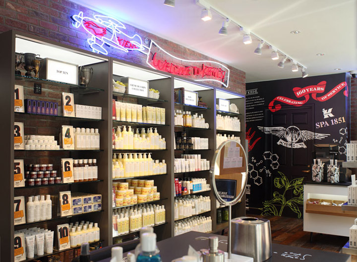 187 Kiehl S Retail Store And Spa 1851 New York