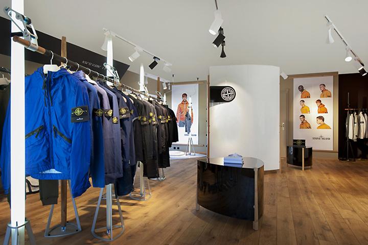 Stone Island Store Sylt Germany Retail Design Blog