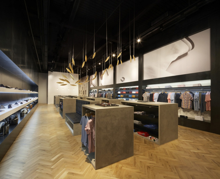 Fred Perry store by BuckleyGrayYeoman London 02 Fred Perry store by BuckleyGrayYeoman, London