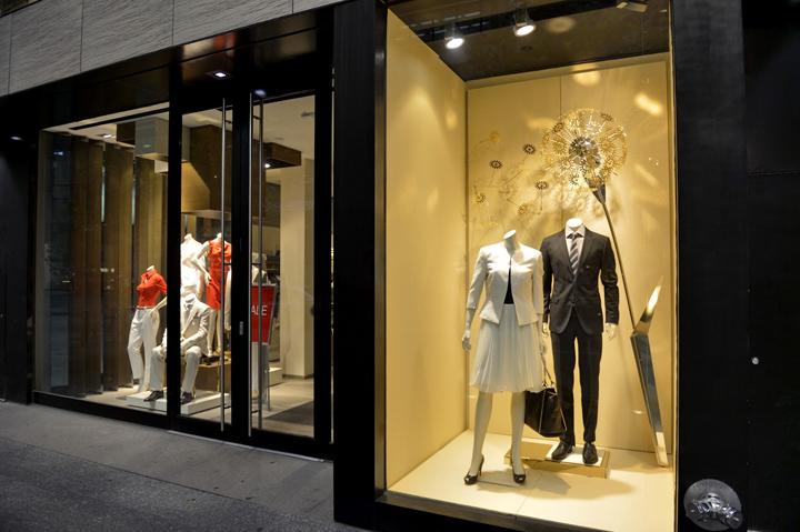 Hugo Boss Window Displays 2012 Summer Toronto