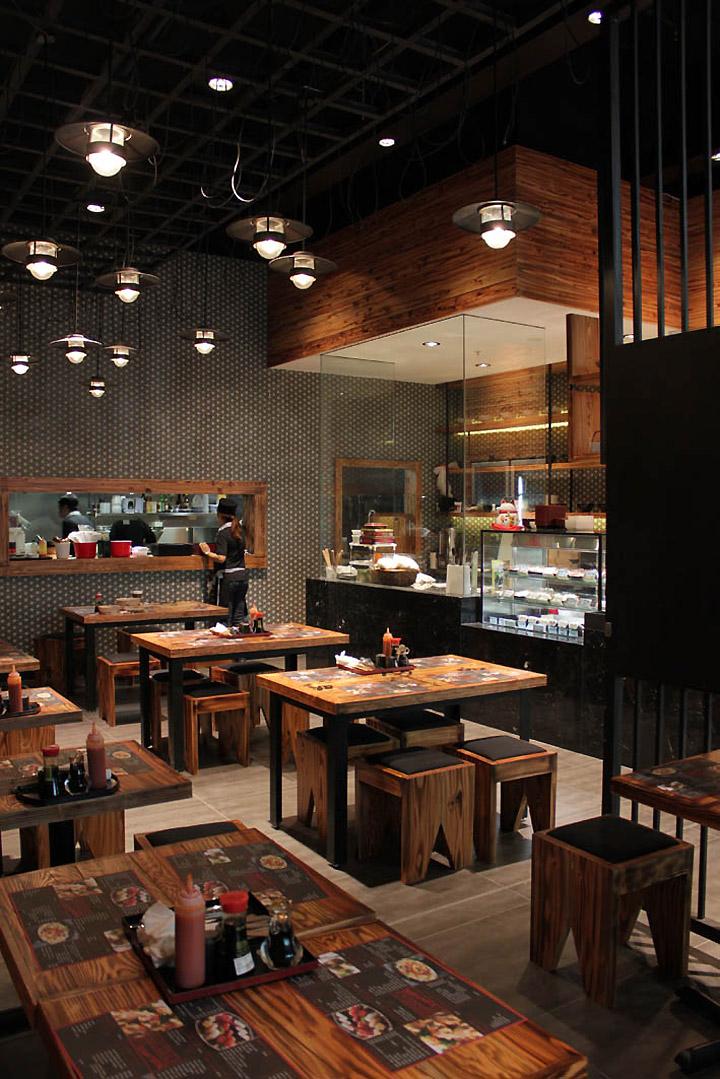 Traditional Japanese Restaurant Interior Design