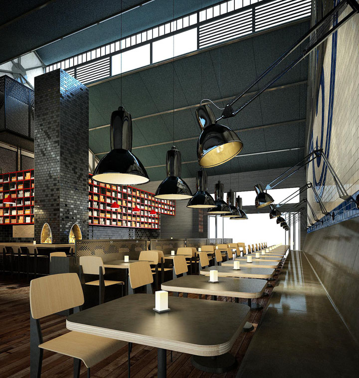 Shed 5 Restaurant By Loop Creative Melbourne