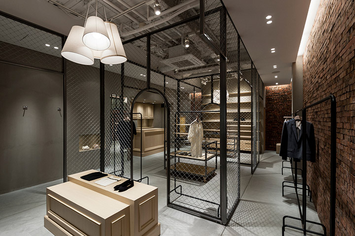 Martagon store by Reiichi Ikeda  Osaka This is an interior design for a specialty boutique in Osaka  Japan  The  owner has an own world view and wants to share it with others that people  should