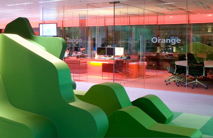 Bloomberg Office Installation By Jump Studios London